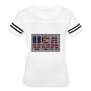 USA - Women's Vintage Sport T-Shirt