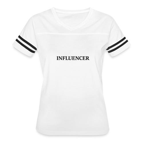 influencer black - Women's Vintage Sport T-Shirt