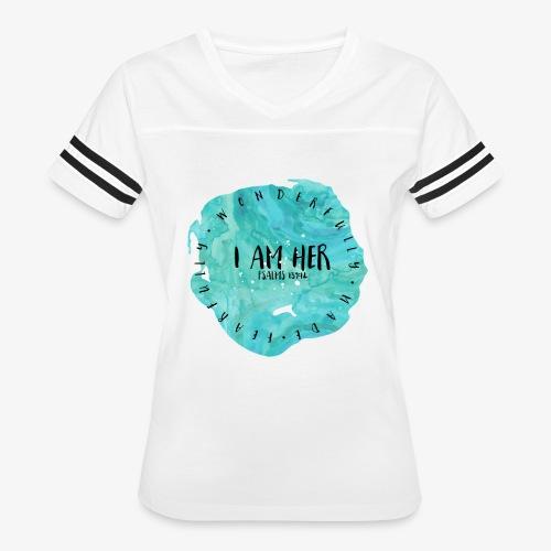 I AM HER - Women's Vintage Sport T-Shirt