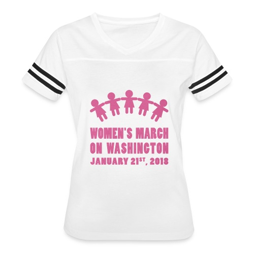 Women's March 2018 (Pink) - Women's Vintage Sport T-Shirt