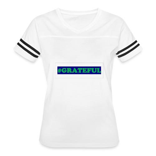 I AM grateful - Women's Vintage Sport T-Shirt