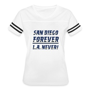 San Diego Forever, L.A. Never! - Women's Vintage Sport T-Shirt