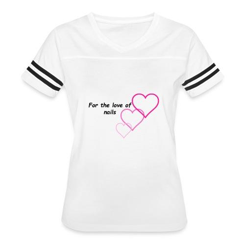 Nail Love - Women's Vintage Sport T-Shirt