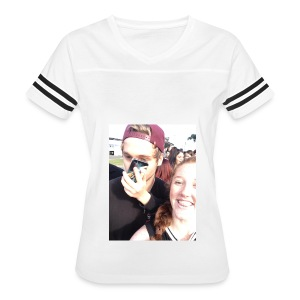 Luke Hemmings with a phone in his face - Women's Vintage Sport T-Shirt