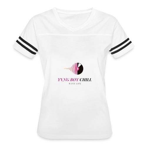 YVNGBOYCHILL SNOW WHITE WL - Women's Vintage Sport T-Shirt