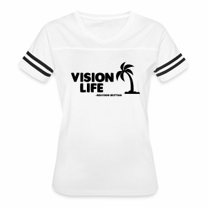Vision Life Limited Edition Summer Tee - Women's Vintage Sport T-Shirt