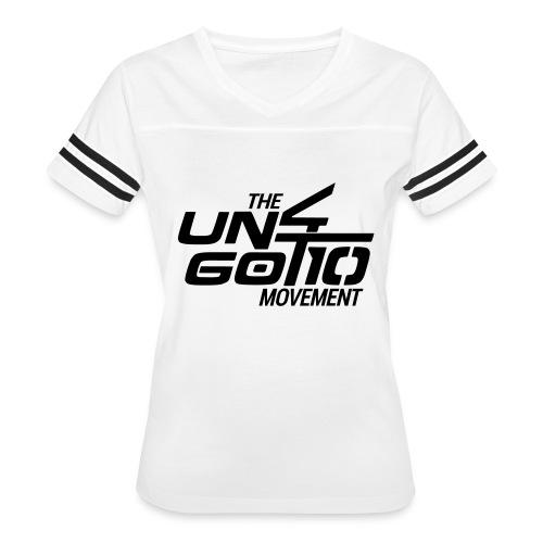 The Un4got10 Movement - Women's Vintage Sport T-Shirt