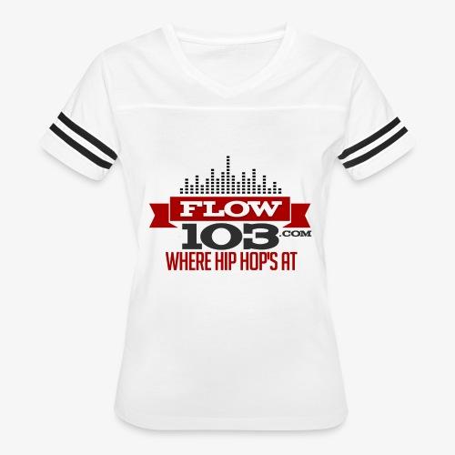 FLOW 103 - Women's Vintage Sport T-Shirt