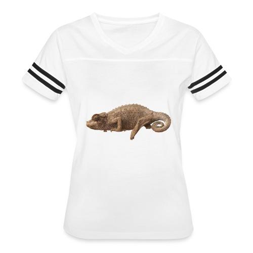 Lone Chameleon - Color - Women's Vintage Sport T-Shirt