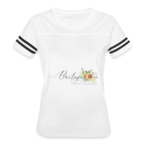 Bailey's Photography Logo - Women's Vintage Sport T-Shirt