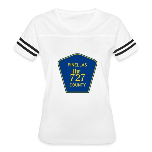 Pinellas the727 County tee - Women's Vintage Sport T-Shirt