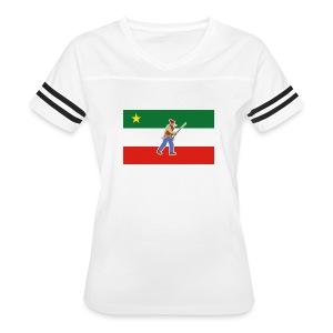 Gilet des Patriotes - T-shirt sport rétro pour femmes