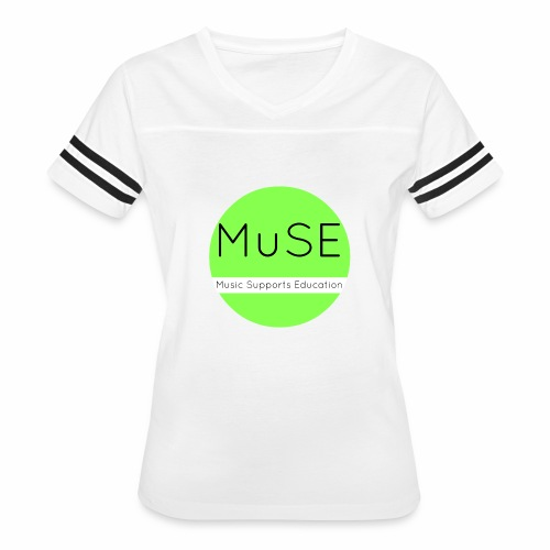 Music Support Education - Women's Vintage Sport T-Shirt
