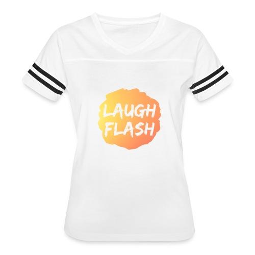 Laugh Flash Origin - Women's Vintage Sport T-Shirt