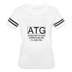 ATG Attracted to gays - Women's Vintage Sport T-Shirt