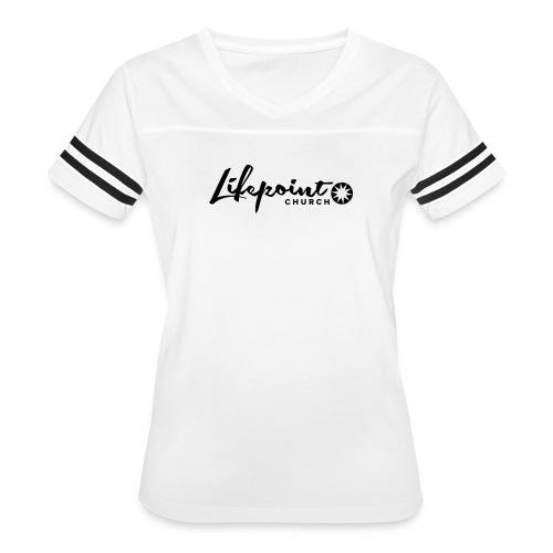 Logo Horizontal Black - Women's Vintage Sport T-Shirt