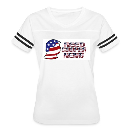 Reed Cooper News Logo & Words - Women's Vintage Sport T-Shirt