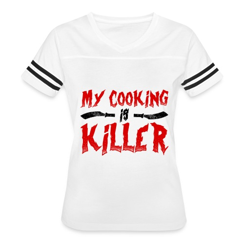 Killer Cooking - Women's Vintage Sport T-Shirt