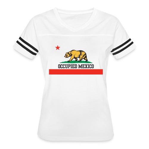 The Real California Flag - Women's Vintage Sport T-Shirt