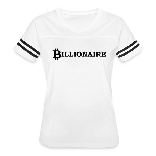 Bitcoin billionaire - Women's Vintage Sport T-Shirt
