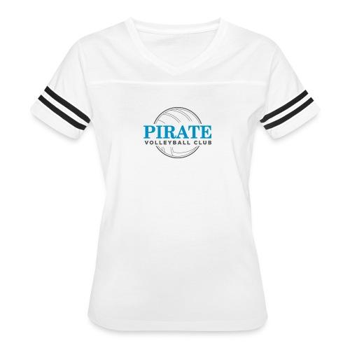Pirate Volleyball Club Logo - Women's Vintage Sport T-Shirt