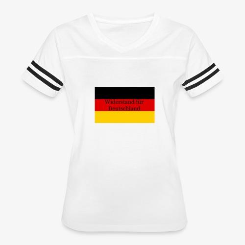 Widerstand für Deutschland - Women's Vintage Sport T-Shirt