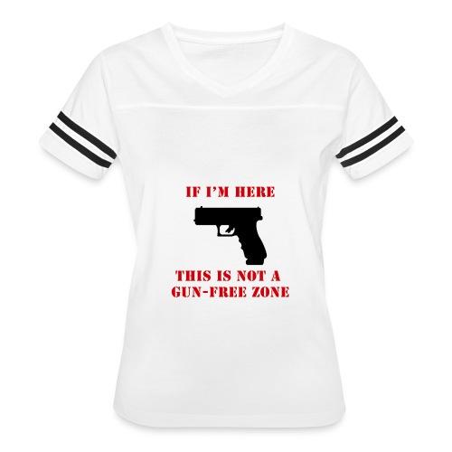 GunFreeZone - Women's Vintage Sport T-Shirt