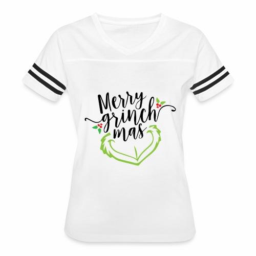 Merry Grinchmas - Women's Vintage Sport T-Shirt