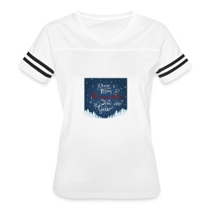 Winter Theme - Women's Vintage Sport T-Shirt