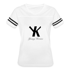 Young Kevino Official Logo (Black) - Women's Vintage Sport T-Shirt