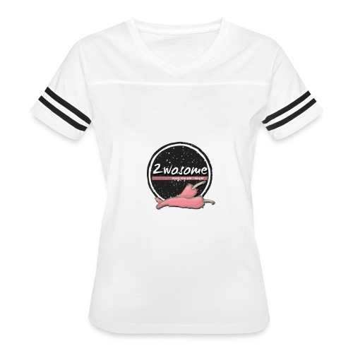 2wosomelogo - Women's Vintage Sport T-Shirt