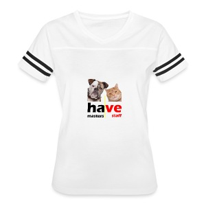 Dog & Cat - Women's Vintage Sport T-Shirt