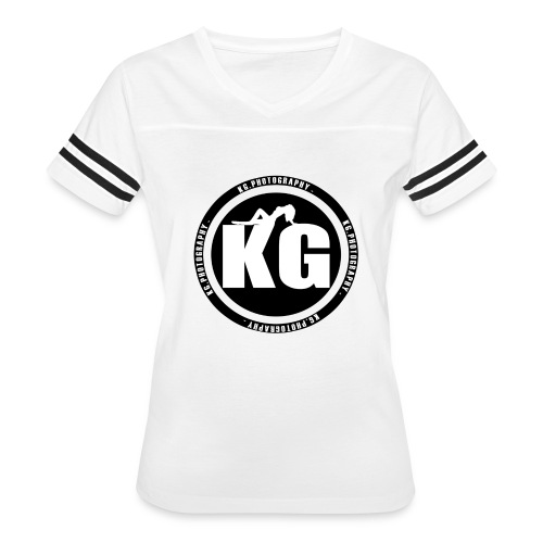KGPHOTOGRAPHY WHITE T's - Women's Vintage Sport T-Shirt