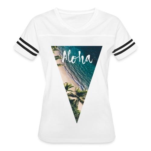 Aloha Pyramid - Women's Vintage Sport T-Shirt
