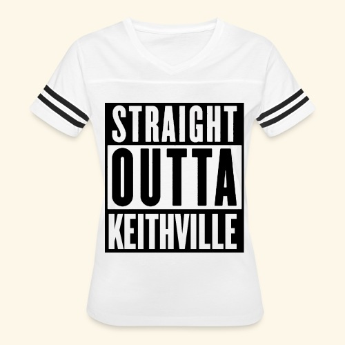 STRAIGHT OUTTA KEITHVILLE - Women's Vintage Sport T-Shirt