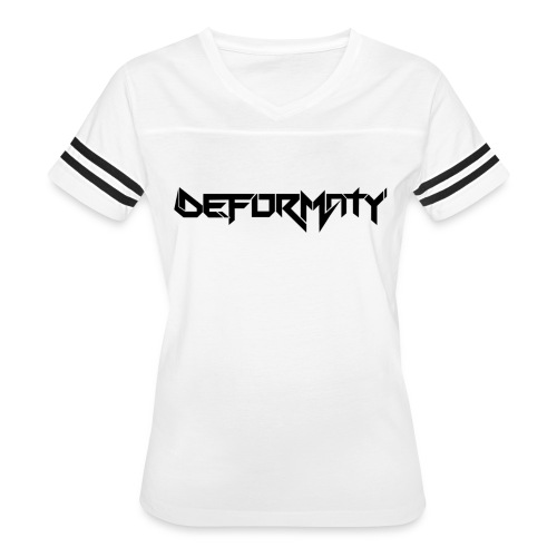 Deformaty Logo Black - Women's Vintage Sport T-Shirt