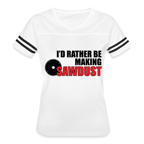 I'd Rather Be - Women's Vintage Sport T-Shirt