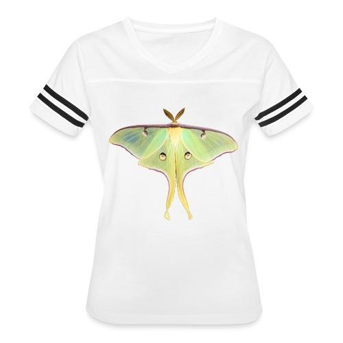 GREEN LUNA MOTH - Women's Vintage Sport T-Shirt