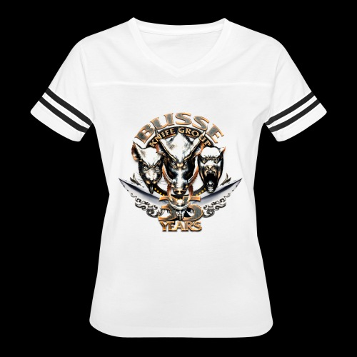 bkg35thannimversarytransparent - Women's Vintage Sports T-Shirt