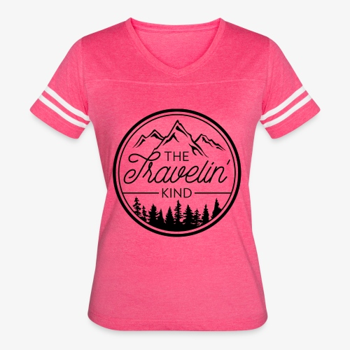 The Travelin Kind - Women's Vintage Sport T-Shirt