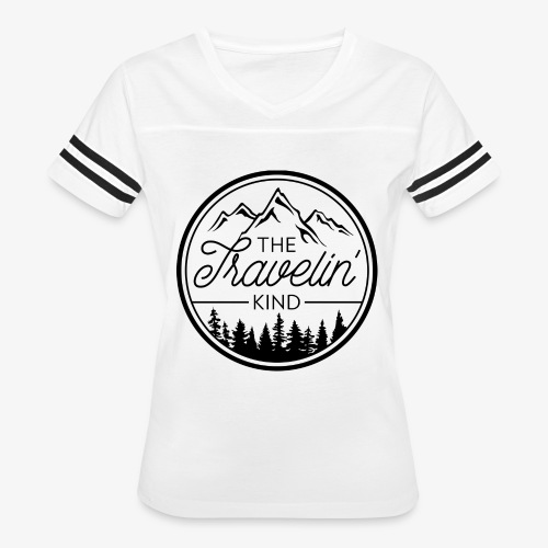 The Travelin Kind - Women's Vintage Sports T-Shirt