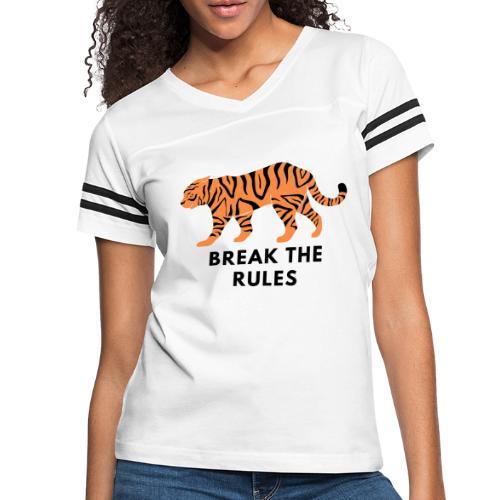 Tiger Print Unisex T-shirts and Hoodies - Women's Vintage Sport T-Shirt