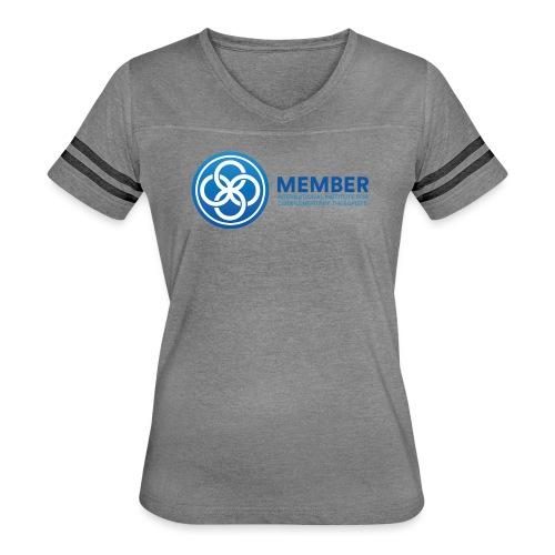 IICT Member Logo - Women's Vintage Sport T-Shirt