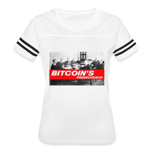 Bitcoin's Predecessor - Women's Vintage Sport T-Shirt