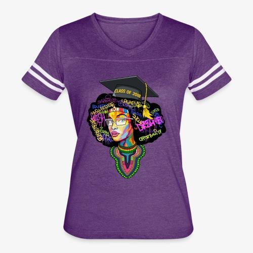 Melanin Queen Shirt - Women's Vintage Sport T-Shirt