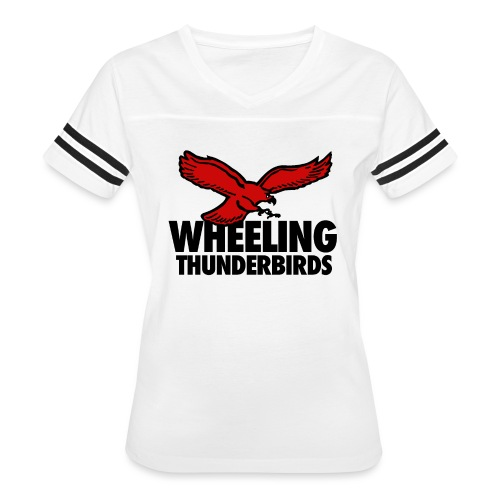 Wheeling Thunderbirds - Women's Vintage Sport T-Shirt