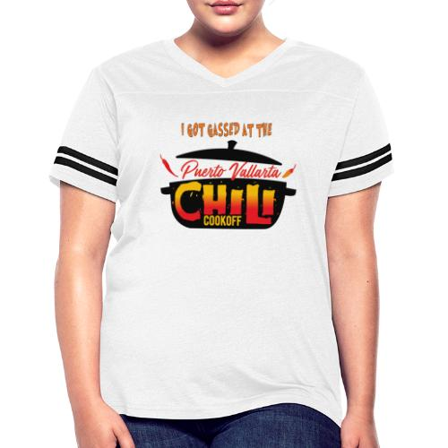 I Got Gassed at the PV Chili Cook-Off - Women's Vintage Sport T-Shirt
