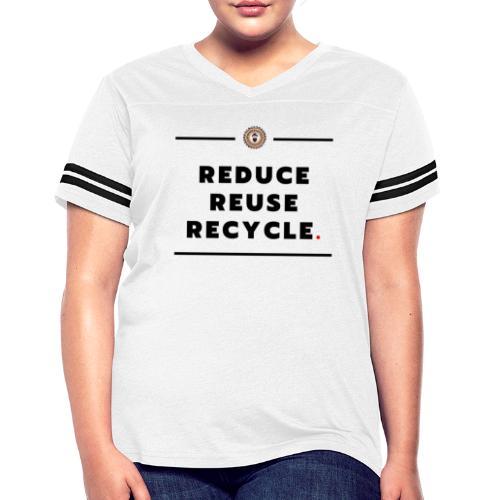 climate change - Women's Vintage Sports T-Shirt