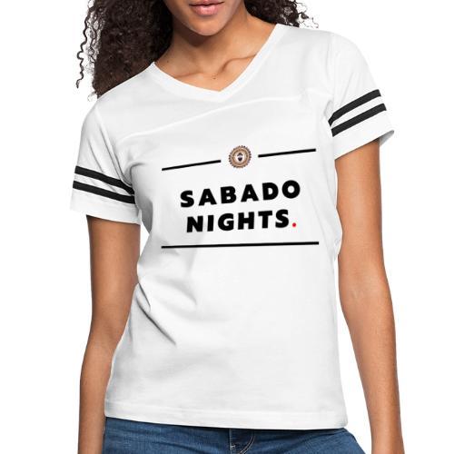 sabado Nights - Women's Vintage Sport T-Shirt