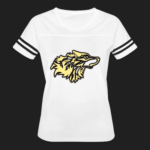 wolfepacklogobeige png - Women's Vintage Sport T-Shirt